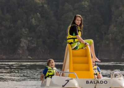 base de loisirs nautique garabit mallet (53) pedalo
